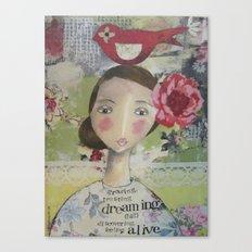 Flower Child Canvas Print