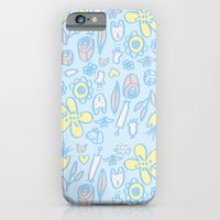 Bunnies And Blooms iPhone 6 Slim Case