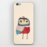 Sweet Owl iPhone & iPod Skin