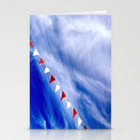 Red, White, and Blue Stationery Cards