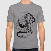 A Dragon from your Subconscious Mind #12 Mens Fitted Tee Athletic Grey SMALL