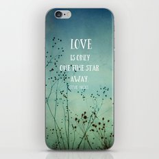 One Fine Star Away iPhone & iPod Skin