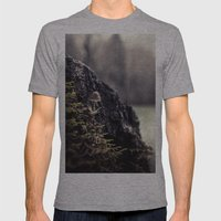 The Lookout Mens Fitted Tee Athletic Grey SMALL