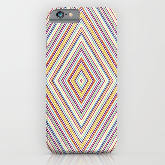 CRAYON STRIPES iPhone & iPod Case