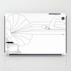 Swimming in Sound iPad Case