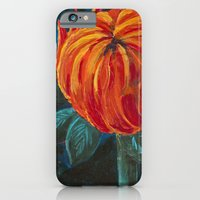 iPhone & iPod Case featuring Chrysanthemum Bud by Charlotte Curtis