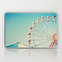 I Don't Want Love, Ferris Wheel on Blue Sky Laptop & iPad Skin