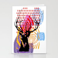 Mrs Stag Stationery Cards