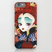 iPhone & iPod Case featuring Queen of Hearts by Sandra Vargas