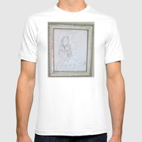 Demon By A 6 Year Old Mens Fitted Tee White SMALL