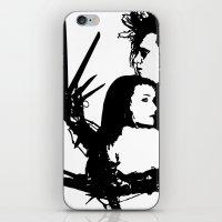 Scissorhands iPhone & iPod Skin