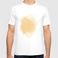 Pattern #11 Mens Fitted Tee White SMALL