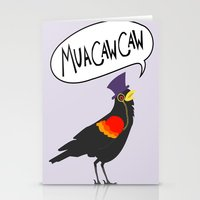 MuaCawCaw Stationery Cards
