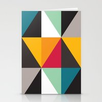 Triangles # 2 Stationery Cards