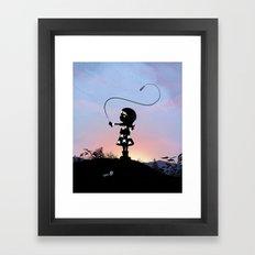 Wonder Kid Framed Art Print