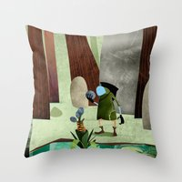 The Potion Maker Throw Pillow