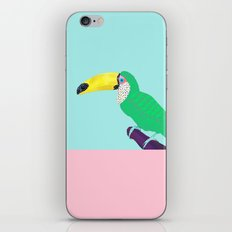 Chilling Toucan iPhone & iPod Skin