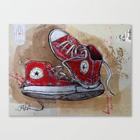 old stars (never die) Canvas Print