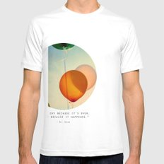 Happiness... White Mens Fitted Tee SMALL