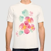 Eastern Bloom Mens Fitted Tee Natural SMALL