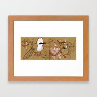 yuhina Framed Art Print