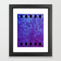 Pink & Purple Blossoms Framed Art Print