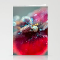 Crystal Orchid Sparkles Stationery Cards