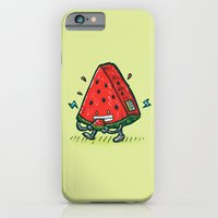 iPhone & iPod Case featuring Watermelon Bot by Nick Volkert