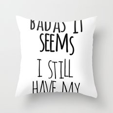 Tommy Throw Pillow
