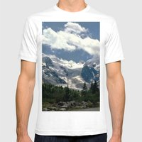 Point of view Mens Fitted Tee White SMALL