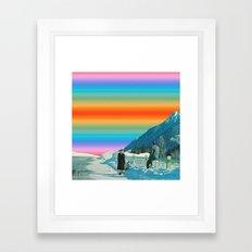 Colors Sky Framed Art Print
