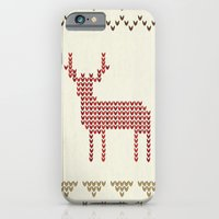 iPhone & iPod Case featuring Knitted by basilique
