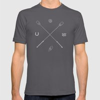 Derby X Mens Fitted Tee Asphalt SMALL