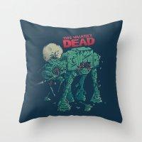Walker's Dead Throw Pillow