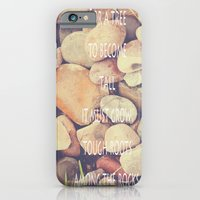 Rocks With Words iPhone 6 Slim Case