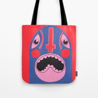 The Mad Lucha Tote Bag