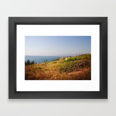 Seascape Framed Art Print