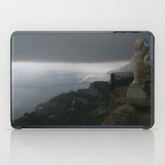 Statue in Ravello, Italy at Villa Cimbrone iPad Case