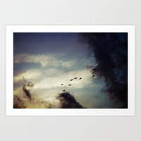 For Love of Sky Art Print