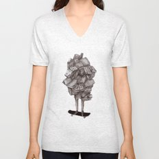 all about learning Unisex V-Neck