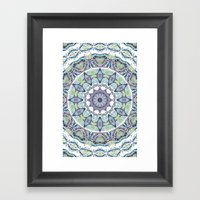 Turkish Mandala Framed Art Print