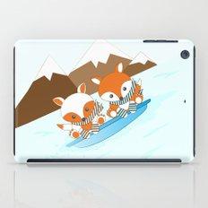 Skiing iPad Case