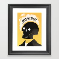 Dead Weather Framed Art Print