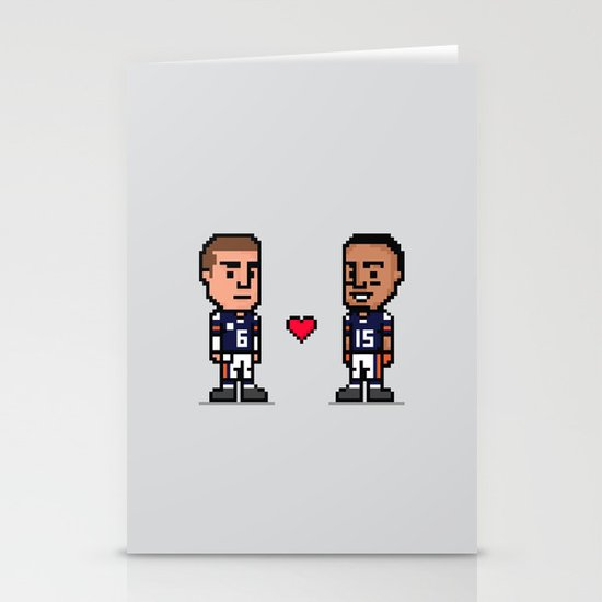8-Bit: Bromance Stationery Card