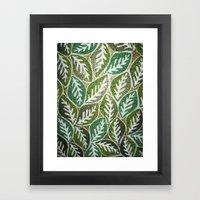 Leaves 3 Framed Art Print