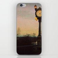 Clock tower iPhone & iPod Skin