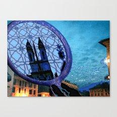 Piazza di Spagna, Roma Canvas Print
