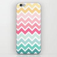 Candy Chevron iPhone & iPod Skin