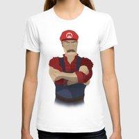 mario T-shirts featuring Mario by DigitalSlave