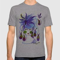 Cocotte Nepenthes Mens Fitted Tee Athletic Grey SMALL